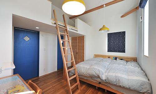 コンパクトな子供部屋イメージ